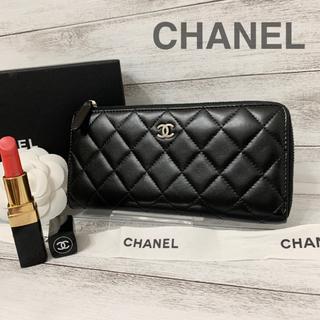 シャネル(CHANEL)のいが様専用  CHANEL✨シャネル✨L字✨ラウンドファスナー✨長財布(財布)