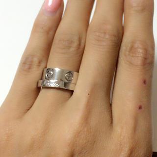 カルティエ(Cartier)の週末セール!カルティエ ラブリング正規品(リング(指輪))