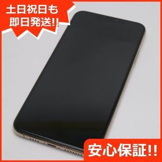 アイフォーン(iPhone)の美品 SIMフリー iPhone 11 Pro Max 64GB ゴールド (スマートフォン本体)