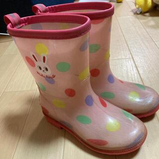 ミキハウス(mikihouse)のミキハウス 長靴 17cm(長靴/レインシューズ)