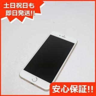 アイフォーン(iPhone)の超美品 SIMフリー iPhone6 PLUS 16GB ゴールド (スマートフォン本体)