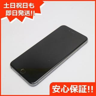 アイフォーン(iPhone)の美品 SOFTBANK iPhone6 PLUS 64GB スペースグレイ (スマートフォン本体)