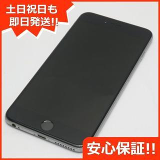 アイフォーン(iPhone)の良品中古 au iPhone6 PLUS 64GB スペースグレイ (スマートフォン本体)