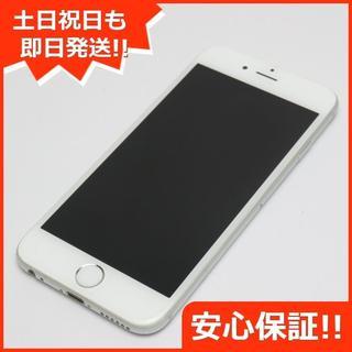 アイフォーン(iPhone)の美品 au iPhone6 128GB シルバー(スマートフォン本体)