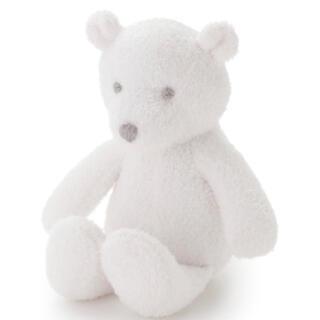 ジェラートピケ(gelato pique)の新品 ジェラートピケ  旭山動物園 スムーズィー クマ baby ラトル(ぬいぐるみ/人形)