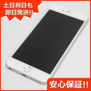アイフォーン(iPhone)の新品同様 SIMフリー iPhone6 PLUS 16GB シルバー (スマートフォン本体)