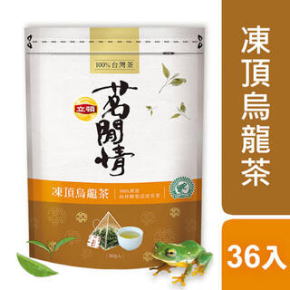 ユニリーバ(Unilever)の台湾 立頓 リプトン 茗閒情 凍頂烏龍茶 36袋入 100%台湾茶(茶)