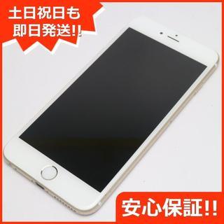 アイフォーン(iPhone)の良品中古 DoCoMo iPhone6 PLUS 128GB ゴールド (スマートフォン本体)