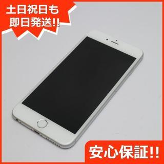 アイフォーン(iPhone)の美品 au iPhone6 PLUS 64GB シルバー(スマートフォン本体)