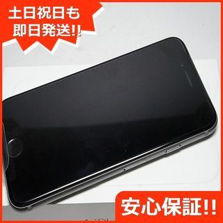 アイフォーン(iPhone)の新品 au iPhone6 16GB スペースグレイ 白ロム(スマートフォン本体)