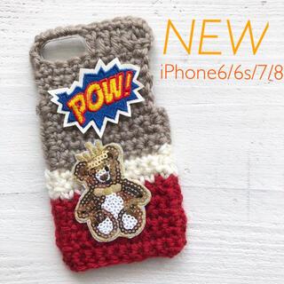 winter SALE【新品】iPhoneケース Bear POW!(iPhoneケース)