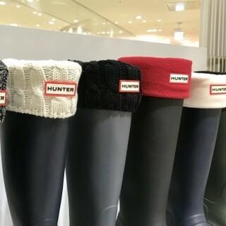 ハンター(HUNTER)のえり様専用☆HUNTERハンター ブーツソックスsize M ロング用(レインブーツ/長靴)