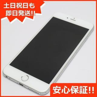 アイフォーン(iPhone)の美品 SIMフリー iPhone6S PLUS 32GB シルバー (スマートフォン本体)