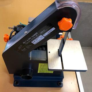 リョービ(RYOBI)のナカトミベルトディスクサンダーNBD-25(工具/メンテナンス)