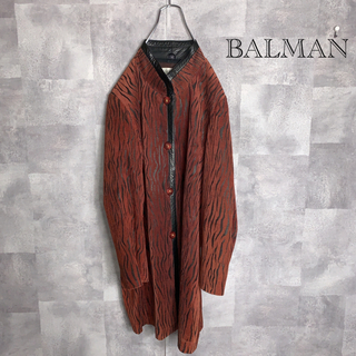 【激レア!】BALMAIN   バルマン ジャケット コート 本革
