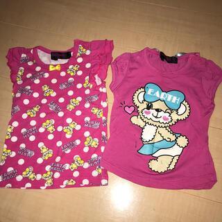 アースマジック(EARTHMAGIC)のアースマジック Tシャツ 2枚セット(Tシャツ)