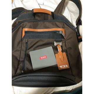 トゥミ(TUMI)のTUMI Bertona Backpack ブラウン(バッグパック/リュック)