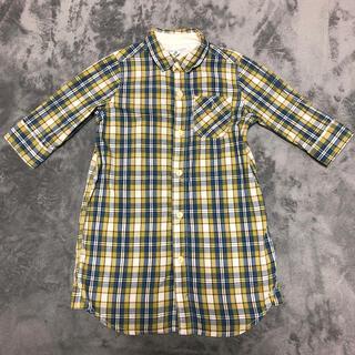 アーバンリサーチ(URBAN RESEARCH)のアーバンリサーチ 女児シャツワンピース(Tシャツ/カットソー)