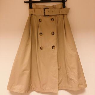 ジルスチュアート(JILLSTUART)のトレンチスカート(ひざ丈スカート)