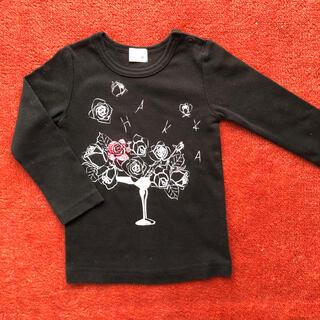 ハッカベビー(hakka baby)の【美品】hakka baby ロンT 90(Tシャツ/カットソー)