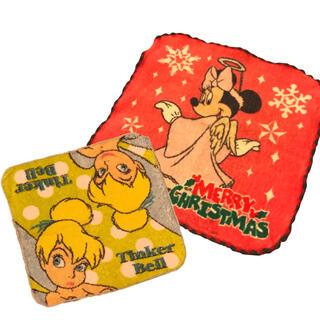 ディズニー(Disney)の最低価格 ディズニー ミニー ティンカーベル タオルハンカチセット (ハンカチ)