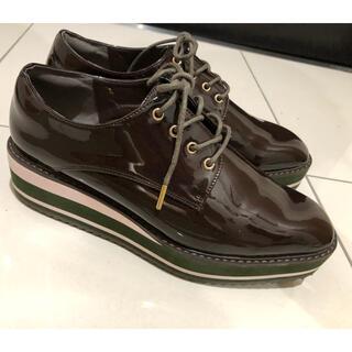 ジェリービーンズ(JELLY BEANS)の厚底ローファー(ローファー/革靴)