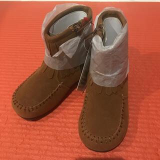 ベベ(BeBe)の【15cm 】茶色ブーツ(ブーツ)