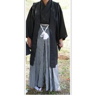 袴セット 小学生 男 卒業式(着物)