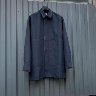 ジルサンダー(Jil Sander)のOAMC 20aw DAVIS SHIRT Charcoal Blue(シャツ)
