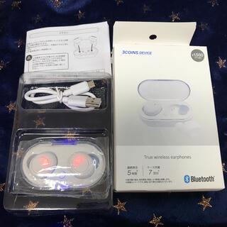 スリーコインズ(3COINS)の3coins  ワイヤレスイヤホン カナル型 ほぼ未使用 Bluetooth(ヘッドフォン/イヤフォン)