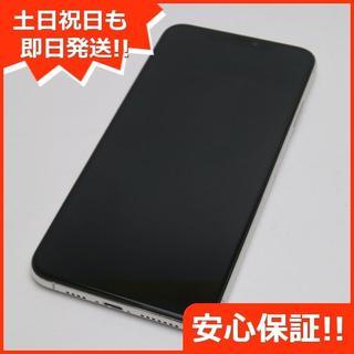 アイフォーン(iPhone)の美品 SIMフリー iPhoneXS MAX 512GB シルバー 本体 (スマートフォン本体)