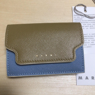 マルニ(Marni)のマルニ Marni 三つ折り ミニ財布 財布【お値下げ中】(財布)