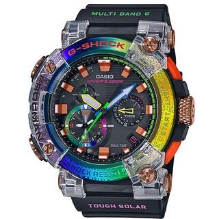 GWF-A1000BRT-1AJR G-SHOCK フロッグマン レインボー(腕時計(デジタル))
