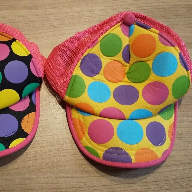 Orange bonbon(オレンジボンボン)のorange bonbon キャップ 帽子 54cm 2個 キッズ/ベビー/マタニティのこども用ファッション小物(帽子)の商品写真