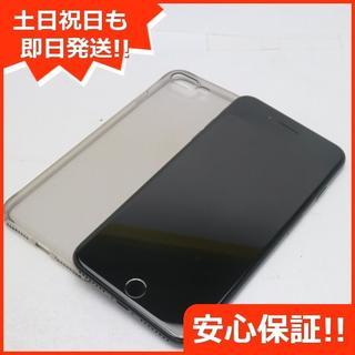 アイフォーン(iPhone)の美品 DoCoMo iPhone7 PLUS 256GB ジェットブラック (スマートフォン本体)