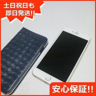 アイフォーン(iPhone)の美品 SIMフリー iPhone6 PLUS 16GB ゴールド (スマートフォン本体)