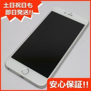 アイフォーン(iPhone)の良品中古 au iPhone6 PLUS 64GB シルバー 白ロム(スマートフォン本体)