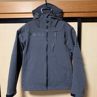 オレンジブルー マズメ ウインドカットジャケット IV M チャコール上下セット(ウエア)