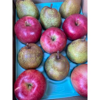 減農薬栽培山形産セット!ラフランス2エル玉&ジョナゴールドりんご(フルーツ)