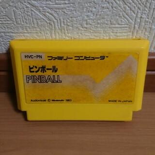 ファミコン ソフト ピンボール(家庭用ゲームソフト)