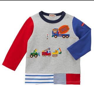 ミキハウス(mikihouse)の120♡ミキハウス♡新品♡プッチー♡働く車(Tシャツ/カットソー)
