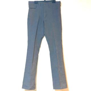 イチミリ(ichi-miri)のICHI-MIRI イチミリ スラックス ブーツカット パンツ 灰色 グレー(スラックス)