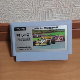 ファミリーコンピュータ(ファミリーコンピュータ)のファミコン ソフト F1レース(家庭用ゲームソフト)