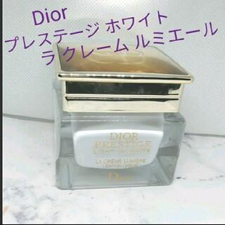 クリスチャンディオール(Christian Dior)のプレステージ ホワイト ラ クレーム ルミエール(フェイスクリーム)