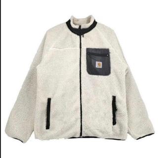 カーハート(carhartt)のCarhartt ボアジャケット 白色 新品未使用 Sサイズ(ブルゾン)