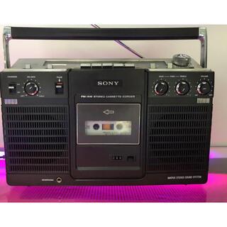 ソニー(SONY)のSONY ソニー CF-2400 高級ラジカセ レトロ メンテナンス済み中古品(ラジオ)
