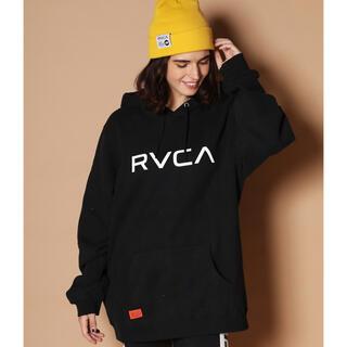 ルーカ(RVCA)のRVCA パーカー 黒(パーカー)
