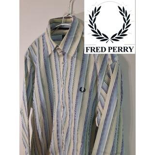 フレッドペリー(FRED PERRY)の【FRED PERRY】ストライプシャツ/長袖/ワンポイントロゴ(シャツ)