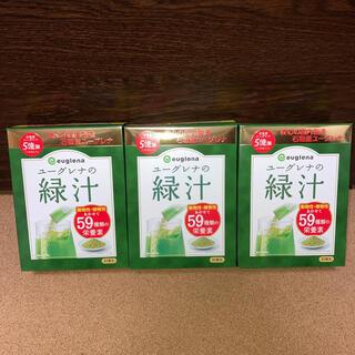 ユーグレナ 緑汁 21本入り × 3箱(青汁/ケール加工食品)
