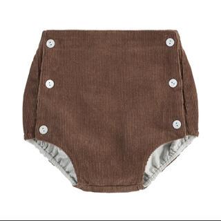 キャラメルベビー&チャイルド(Caramel baby&child )のLittle Cotton Clothes 20AW ブルマ 新品 3-4y(パンツ/スパッツ)